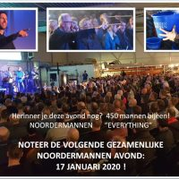 Gezamenlijke avond Noordermannen 2020!!!
